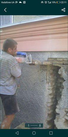 Алмазная резка бетона и кирпича.