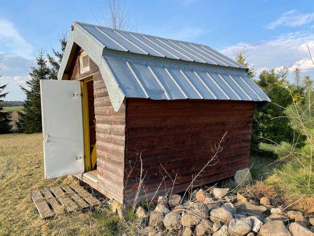 Domek drewniany kempingowy 2 osobowy