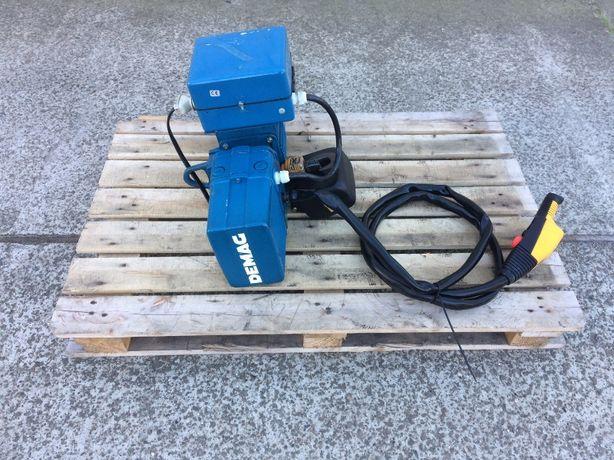 Wciągnik łańcuchowy DEMAG 125kg – suwnica, wciągarka, elektrowciąg, de