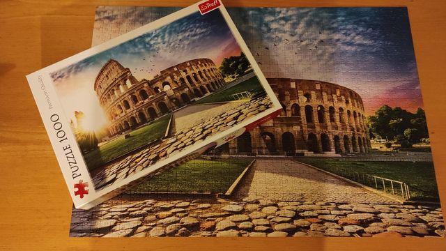 Puzzle 1000 Trefl | kompletne | Koloseum