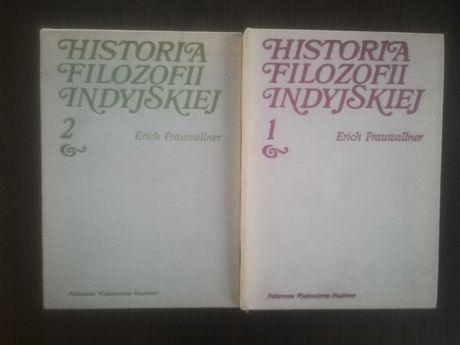 FRAUWALLNER Historia filozofii indyjskiej 1 i 2 cz.