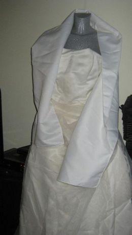 Suknia do ślubu kremowa M 170