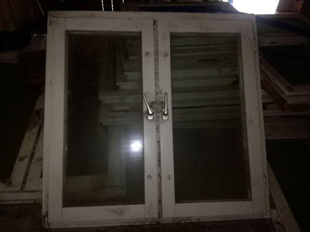 Okna drewniane podwójne 120x120, 120x150, 150x150