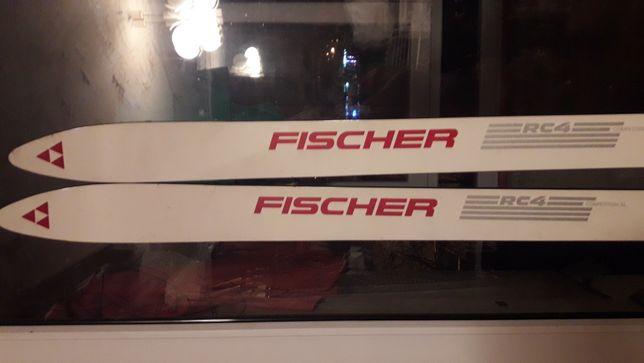 Лыжи Fischer новые