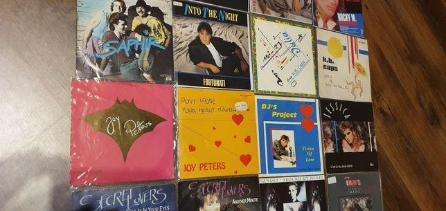 Joy peters,  DJ's project, Rocky m, Grand miller 7' italodisco