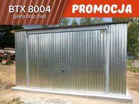 PROMOCJA - kolor w cenie ocynku, garaż blaszany ocynkowany 4x5 4x6