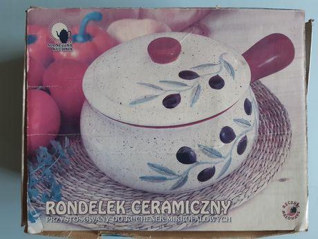 Rondelek ceramiczny