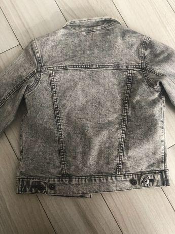 Kurtka dziecięca  jeansowa szara