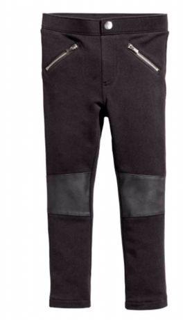 Продам штаны, треггинсы, джинсы на девочку 4-6 лет