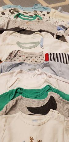 MEGA PAKA, ubranka unisex, 45 sztuk, rozmiar 68 i 74