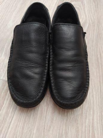Школьные туфли кожа  32-33 р , 21,5 см