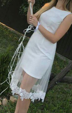Біле плаття, платье