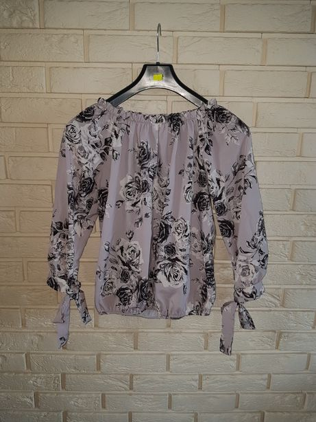 Bluzka kwiaty m/ l / xl