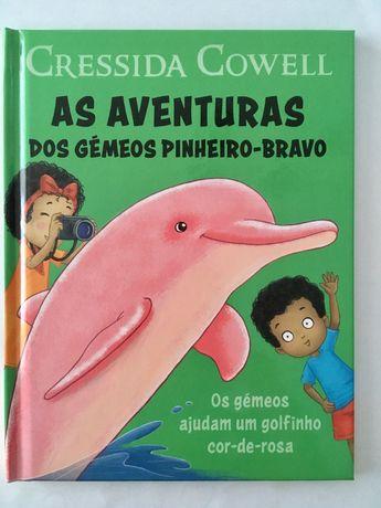 """Livros infantis """"As aventuras dos gémeos Pinheiro-Bravo"""""""