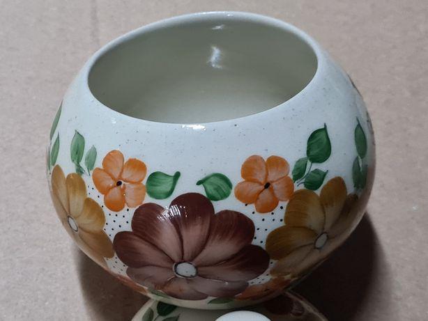 Włocławek, ceramika porcelana PRL miseczka paterka