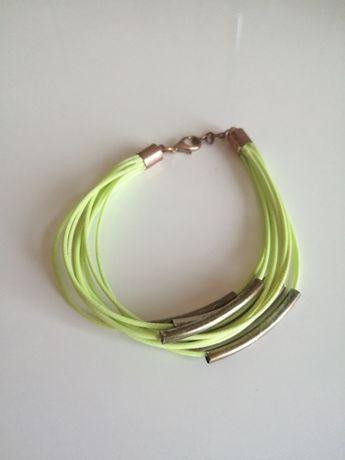 Zielona bransoletka