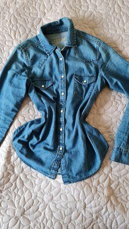 Dzinsowa jeansowa koszula rozmiar