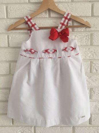 Sukienka rozmiar 98-104 stan bdb biała