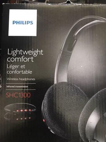 Auscultadores Philips SHC1300 novos selado