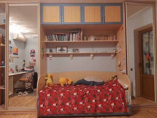Детская стенка кровать