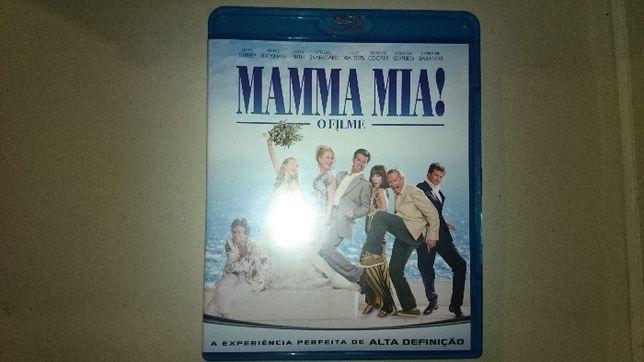 Filme Mamma Mia em blue Ray