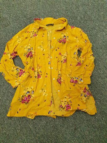 Koszula kwiaty Stradivarius M/L.