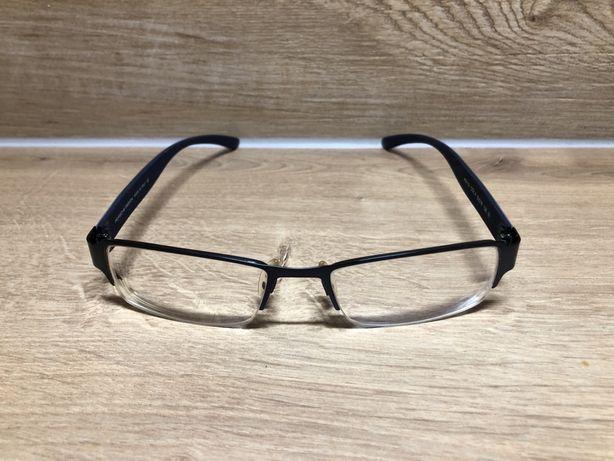 Oprawki męskie, okulary Porsche Design P9112 Niebieskie