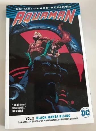 AQUAMAN VOL.2 Black Manta Rising komiks IDEAŁ