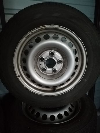 """Koła 16"""" VW T5/T6 5x120 z oponami 205/65R16 C 107/105 T 9mm - 33ty2018"""