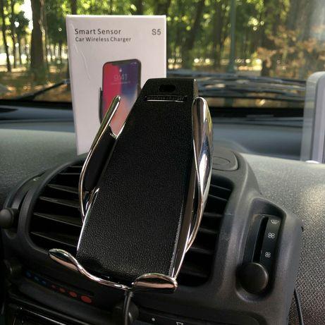 Автомобильный держатель сенсорный для телефона Smart sensor S5