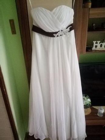 Suknia ślubna+welon i rękawiczki gratis