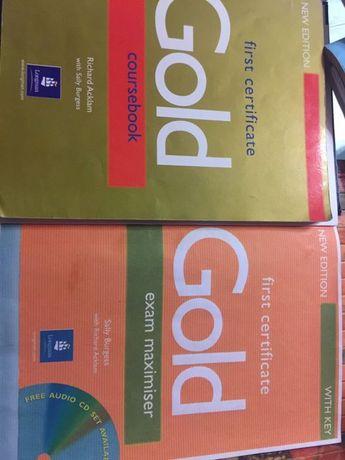 Gold coursebook and exam maximiser