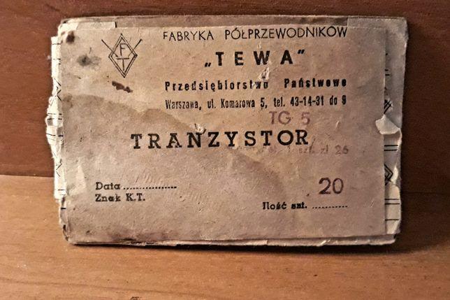 Tranzystor germanowy TG 5