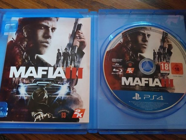 Gra Mafia III ps4