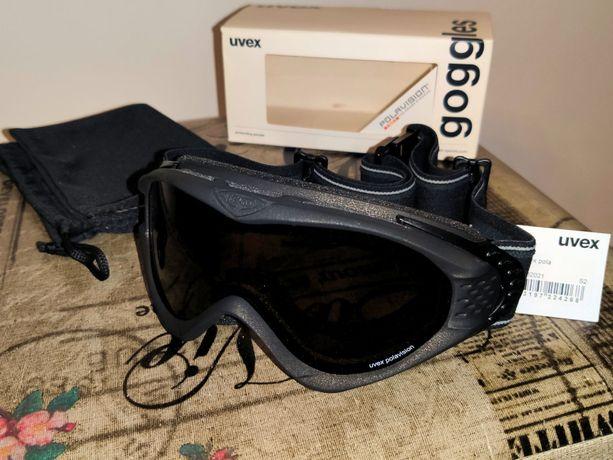 Nowe gogle UVEX ONYX POLA na narty deske snowboard DAMSKIE Uniseks