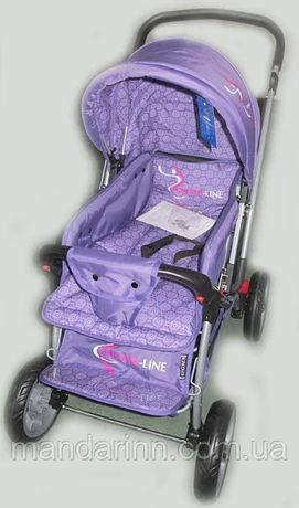 Прогулочная детская коляска Sigma H-538EF с перекидной ручкой