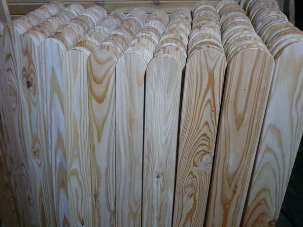 Solidne Drewniane Sztachety