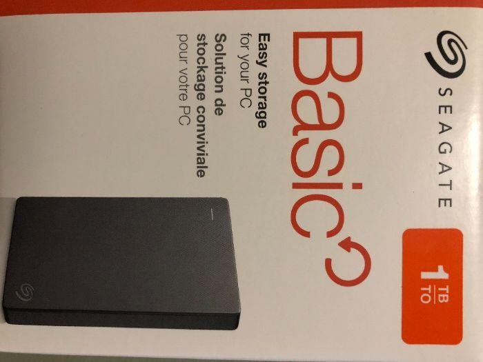 Жорсткий диск Seagate Basic 1TB STJL1000400 2.5 USB 3.0 External Gray Тернополь - изображение 1
