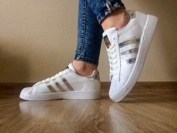Adidas Superstar. Rozmiar 36,37,38,39,40,41. Kolor srebrny