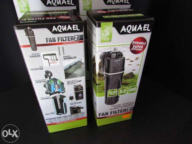 Filtro para aquário aquael novo professional 450l/h