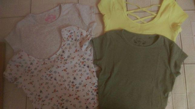 Krótkie koszulki S