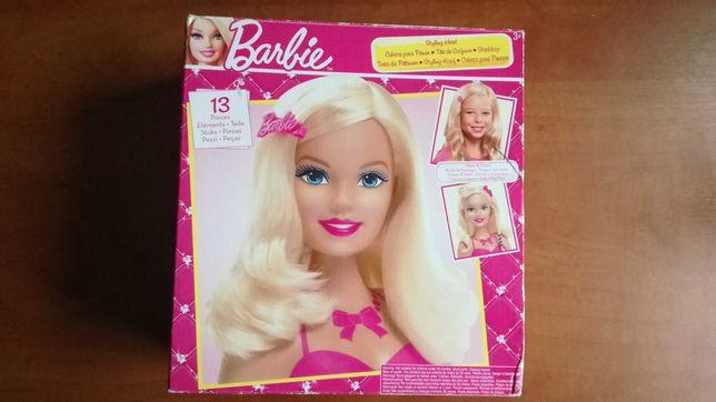 Głowa Barbie oryginalna, do czesania w super stanie. Piękne włosy