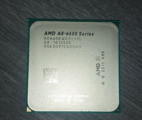 AMD A8-6600K series +płyta główna ASUS