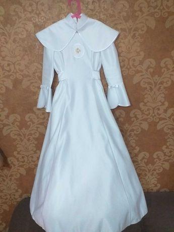 Alba sukienkowa na I Komunię Świętą