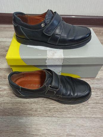 Кожаные туфли на мальчика Каприз