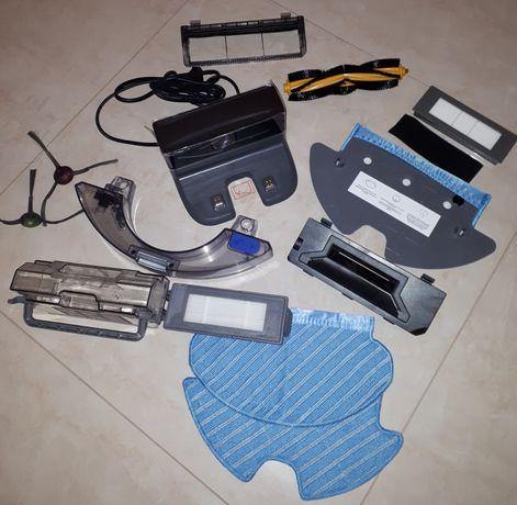 Ecovacs Ozmo Deebot 900 901 920 930 950 док станция щетки пылесборник