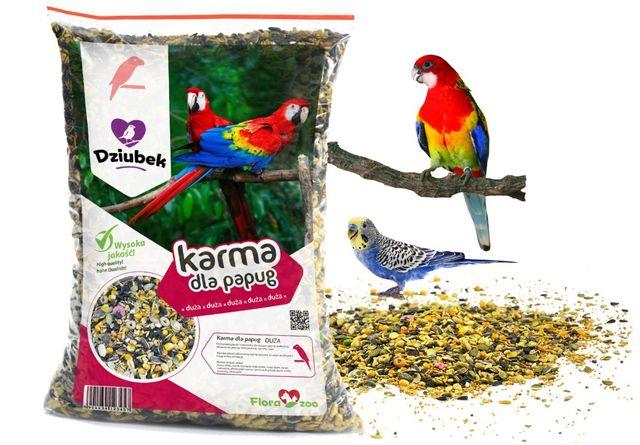 Karma Dla Papugi Dużej Proso Słonecznik Ziarno 5KG