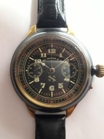 Часы хронограф  швейцарские наручные HY MOSER & CIE