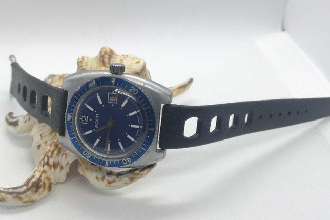 Relógio corda Agon Mergulho [EB 8800] - 38 mm - Swiss Made