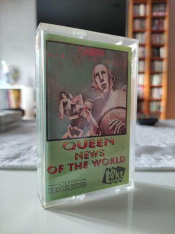 Kaseta Queen news od the world